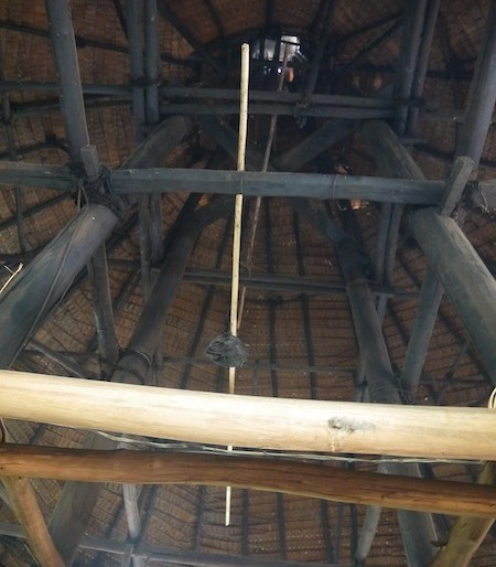 Roof interior structure