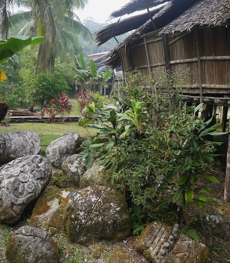 Gardens around the baruk