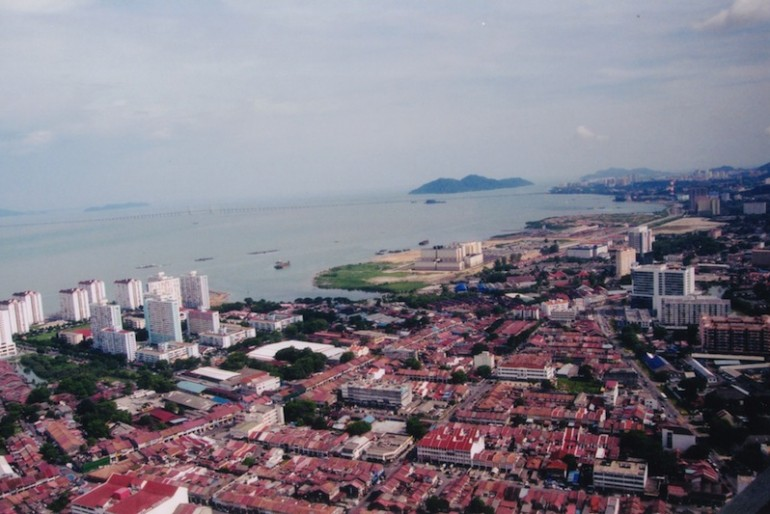 George Town from Penang Hill