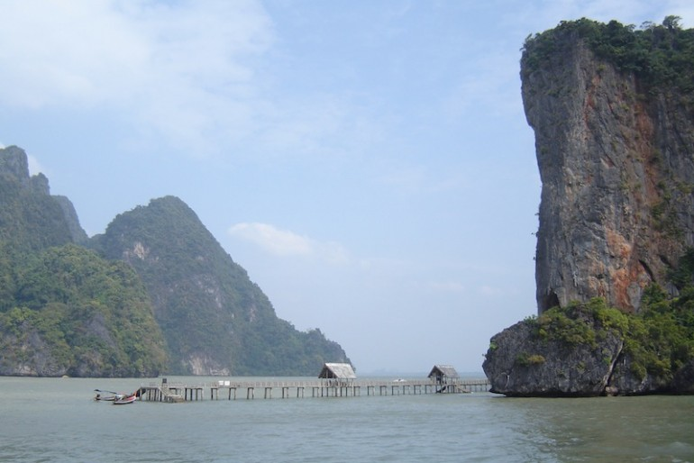 Pier at Koh Panyi