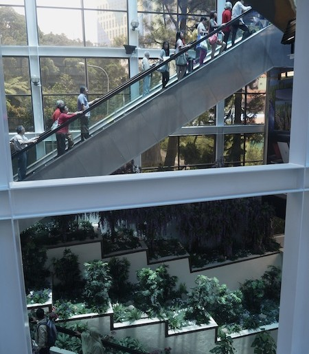 A maze of elevators