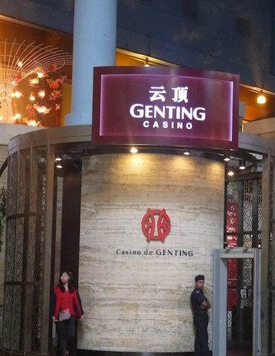 Genting Highlands casinos area