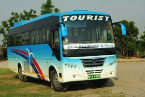 Bus to Chitwan