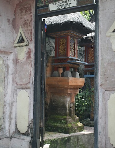 One of the houses at Tenganan