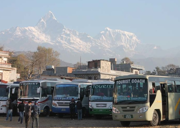 Pokhara bus station