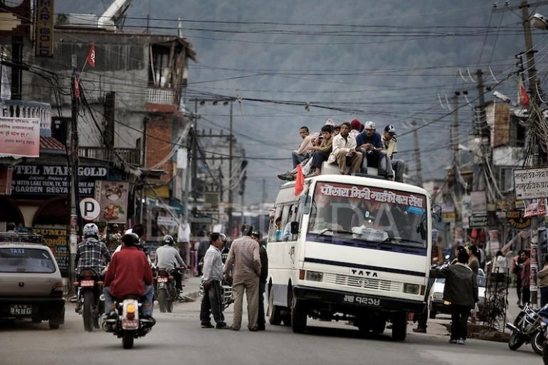Bus Lakeside Pokhara