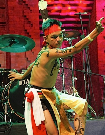 Spirit of the Hornbill dancer