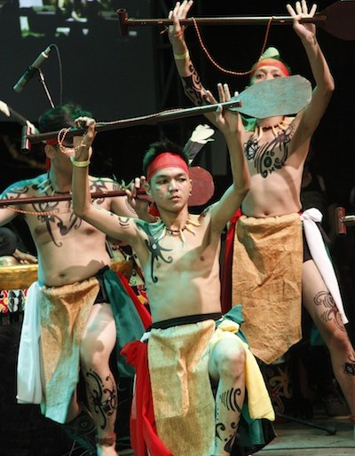 Spirit of the Hornbill dancers