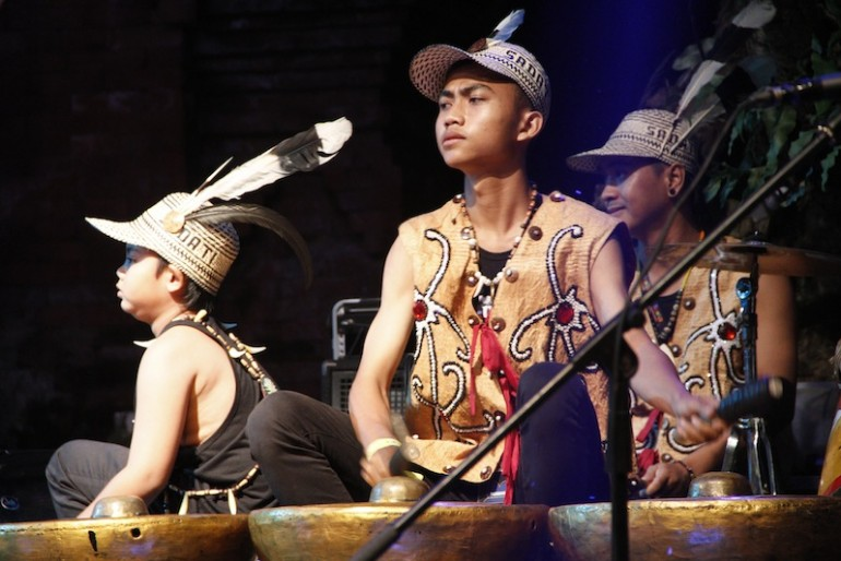 Spirit of the Hornbill musicians