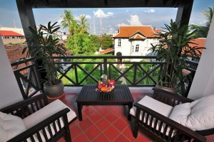 Balcony suite at Ansara Hotel