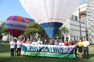 Hot Air Balloon Fiesta VIP guests
