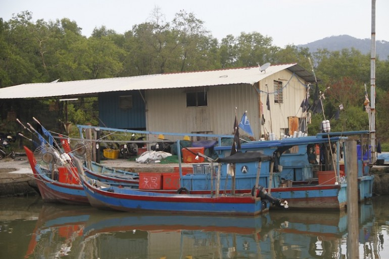 FIshing village in Balik PUlau
