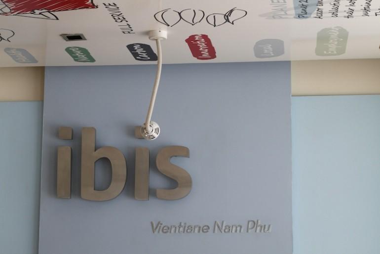 ibis Vientiane Nam Phu Hotel lobby area
