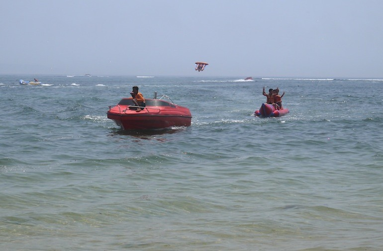 Water sports activities in Tanjung Benoa - Bali