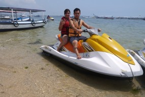 Attractive water sports in Bali