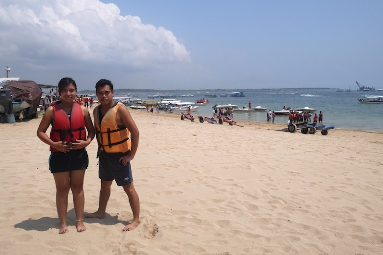 Tanjung Benoa seaside