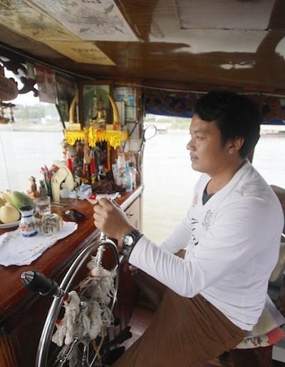 Mekong Smile Cruise captain