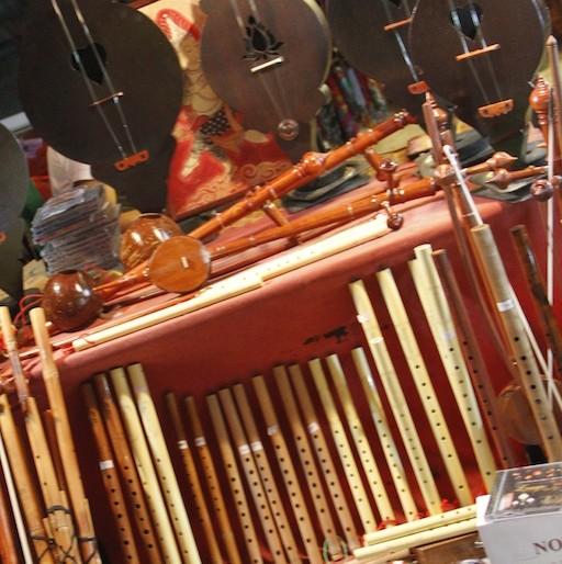 Walai Road musical stall