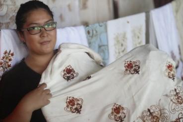 Yulia la donna dei batik