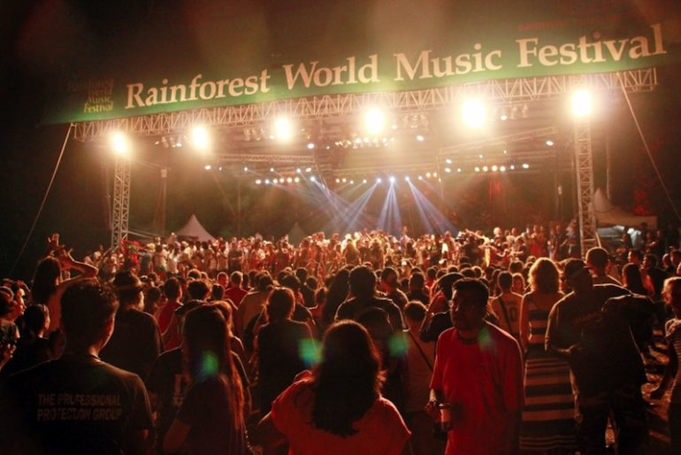 Rainforest World Music Festival stage 1