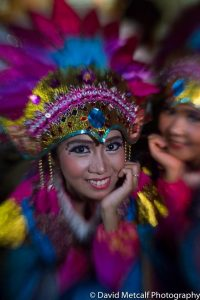 A local feathered beauty at Isen Mulang Festival