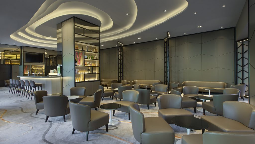 lounge at Four Points by Sheraton Singapore