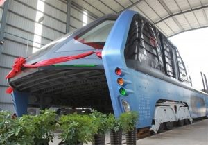 Chinese giant bus unveiled