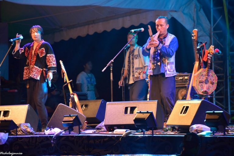 Shanren live at the Rainforest World Music Festival