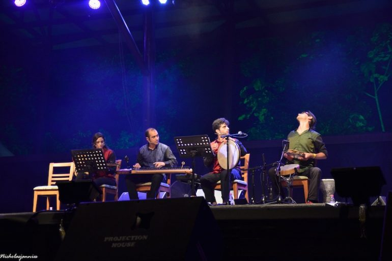 Broukar at the Rainforest World Music Festival 2016