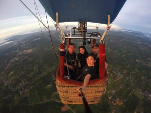 Up in the air with local hero Abdul Aziz