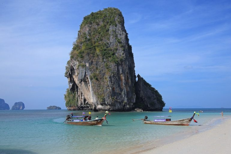 Phra Nang beach, in Railay