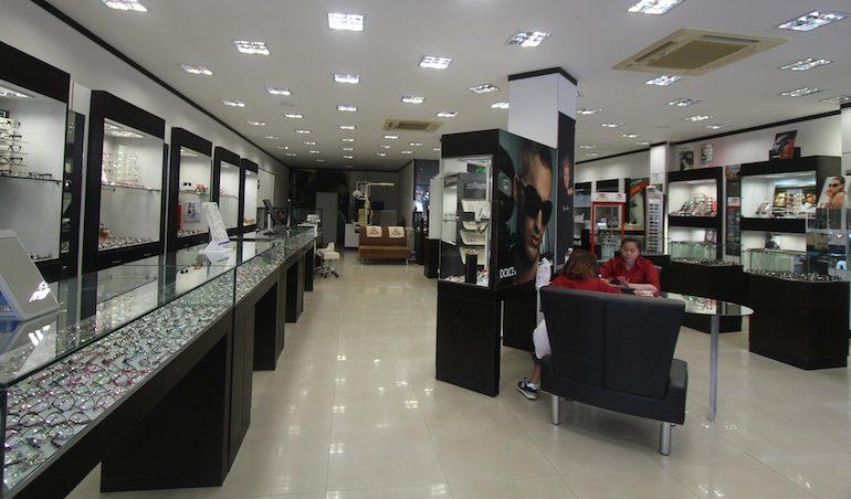S.K. Optik interior