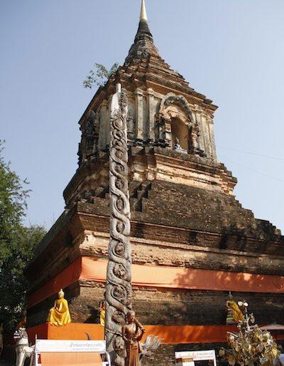 The chedi at Wat Lok Molee