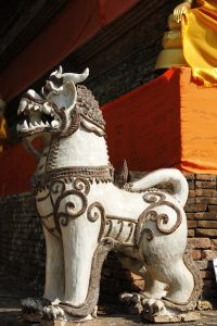 Sacred lion