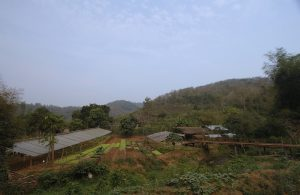 Rural outskirts of Luang Prabang