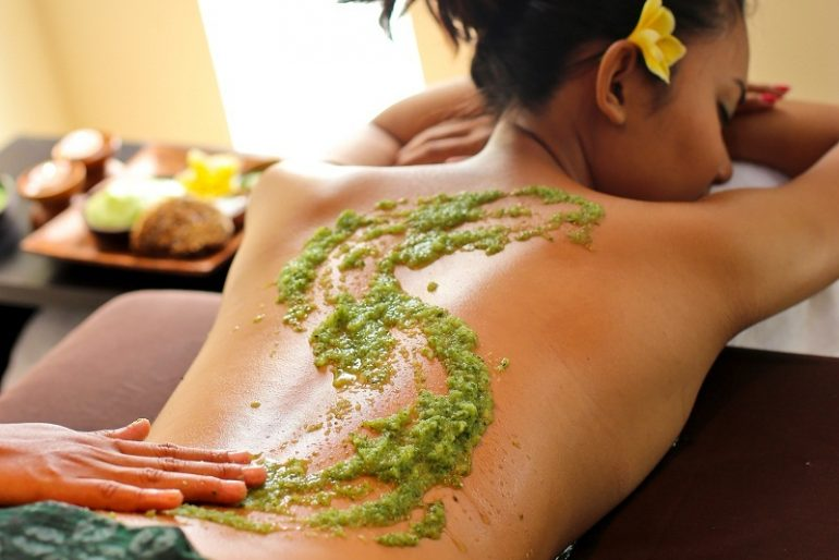 Spa herbal treatment