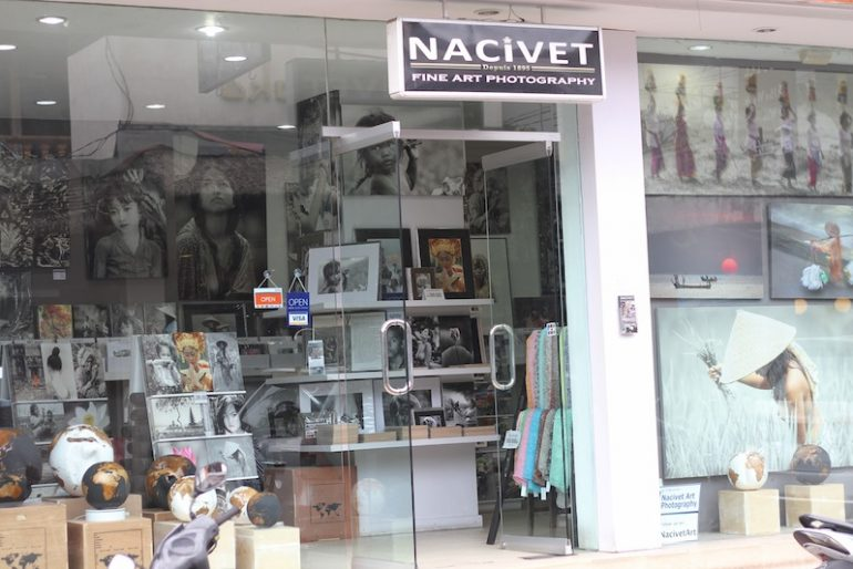 Art galore in Ubud streets
