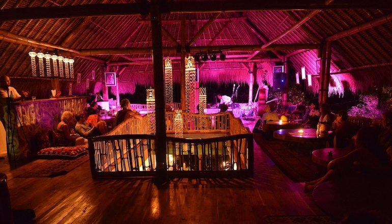 Bali Bohemia upstairs ambience