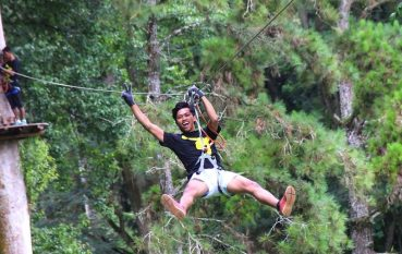 Fly high at Bali Treetop