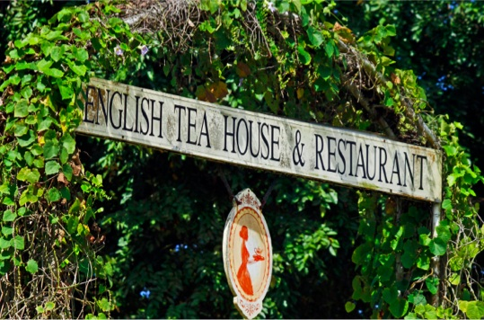 English Teahouse entrance
