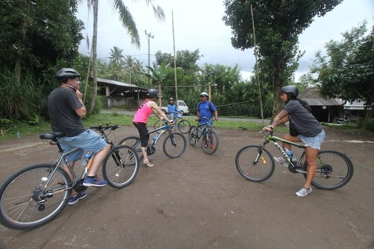 Ready for the Bali eco educational cycling tour