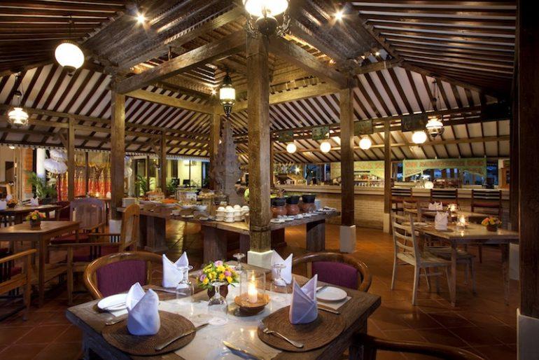 Joglo Restaurant Landscape