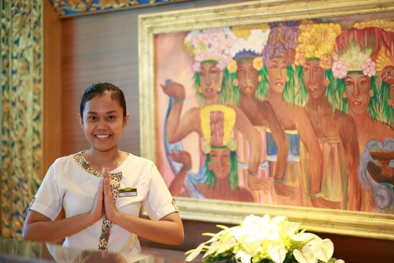 Receptionist at SenS Hotel & Spa Ubud