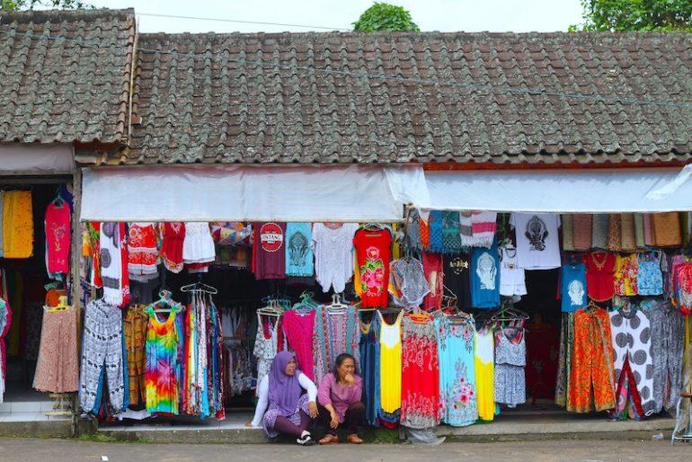 Stalls at Candikuning Market