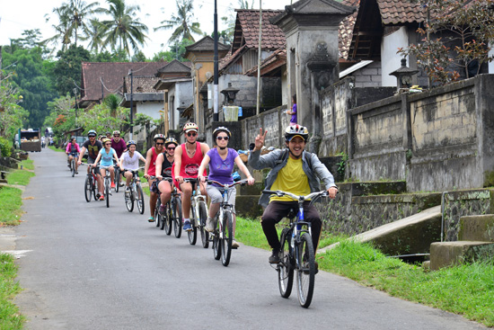 Ubud cycling tour