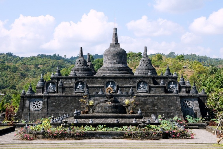 Buddhist temple in Banjar
