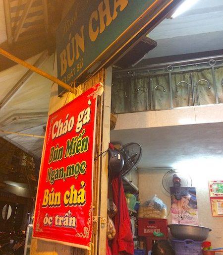 Binh Minh eatery in Bat Su