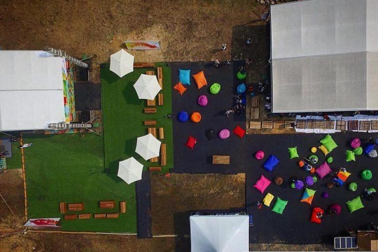 Desa ParkCity venue from the sky