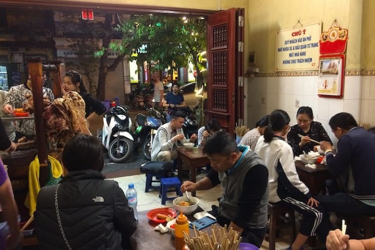 Pho Gia Truyen local eatery
