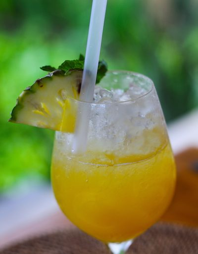 Virgin Pinacolada mocktail